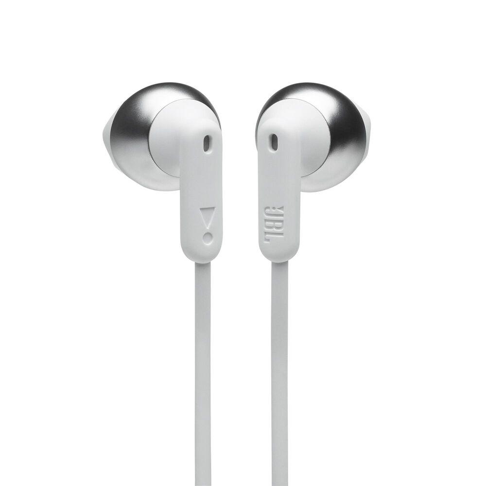 JBL Tune 215BT Wireless Earbud Headphones in White, , large