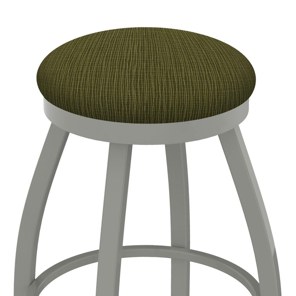 """Holland Bar Stool 802 Misha 25"""" Swivel Counter Stool with Anodized Nickel and Graph Parrot Seat, , large"""