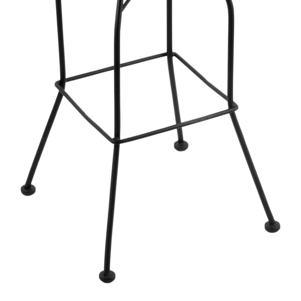 """Holland Bar Stool 3020 25"""" Swivel Counter Stool with Black Wrinkle and Graph Ruby Seat, , large"""