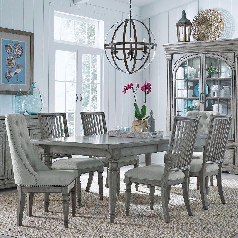 Chapel Hill Madison Ridge 7-Piece Dining Set in Gray, , large