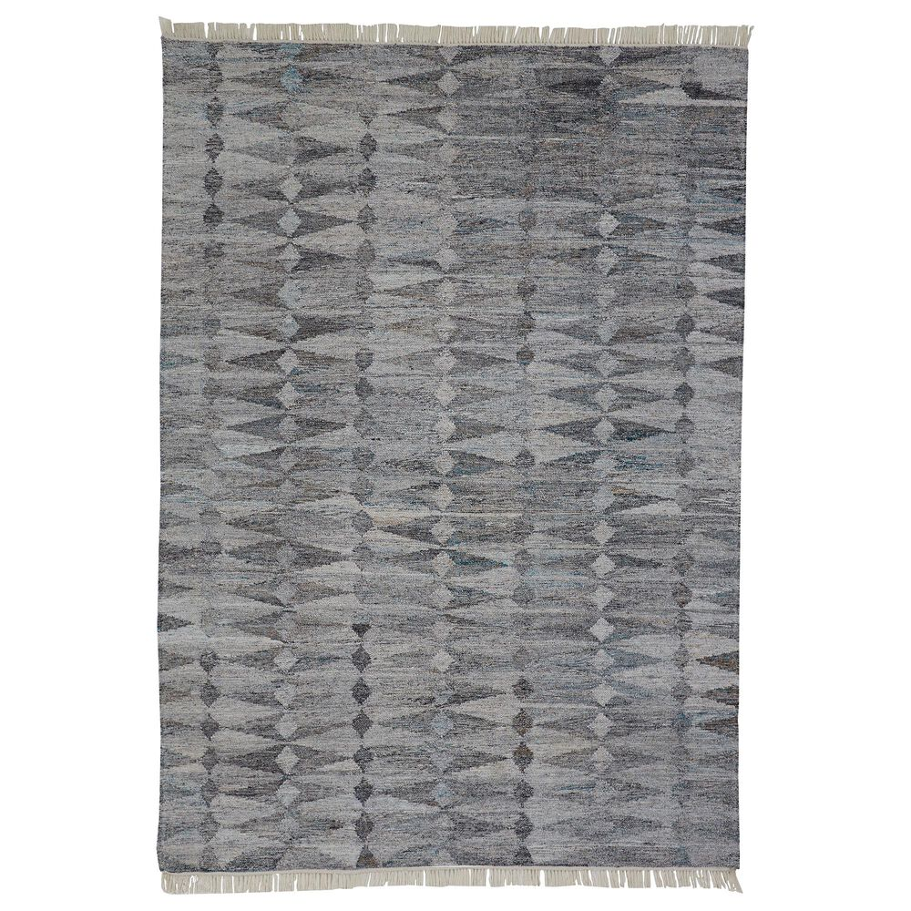 Feizy Rugs Beckett 0814F 2' x 3' Gray Area Rug, , large