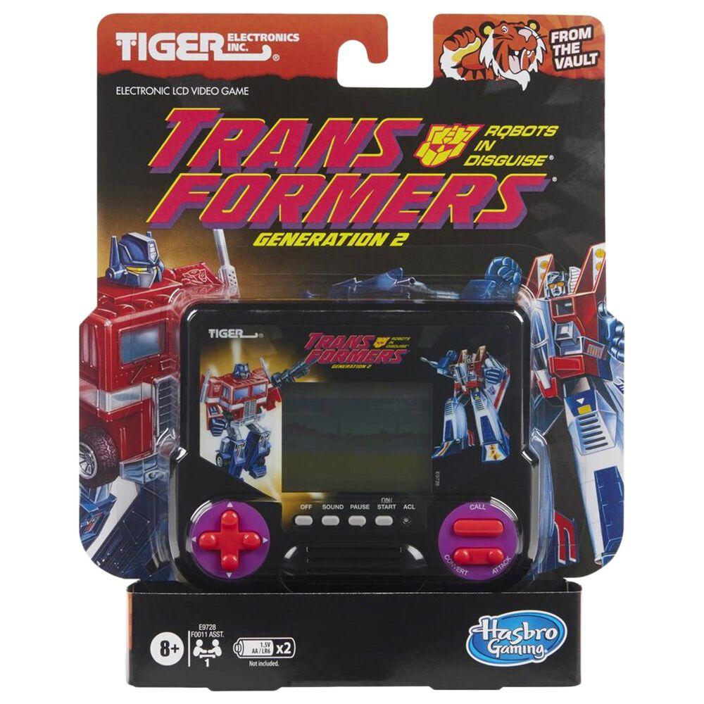 Hasbro Gaming Tiger Electronics Transformers Generation 2 Electronic LCD Video Game, , large