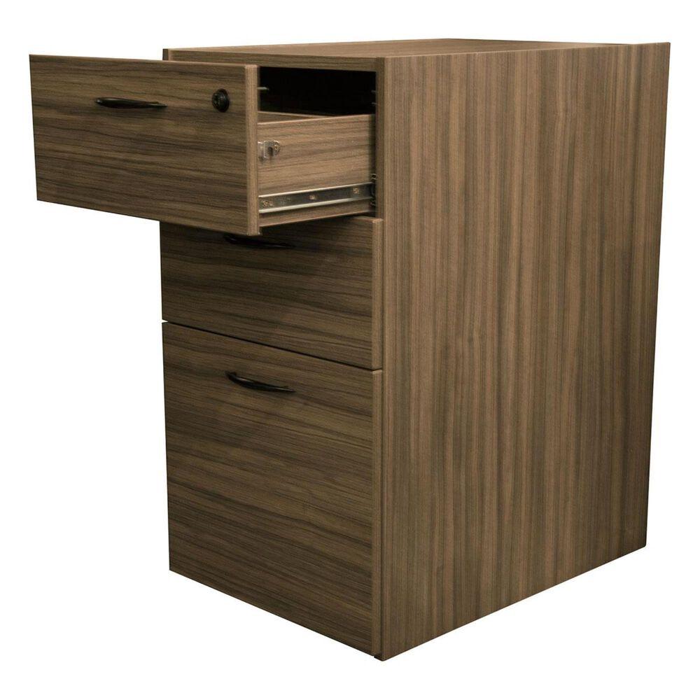 OSP Home Napa Box File Pedestal in Urban Walnut, , large