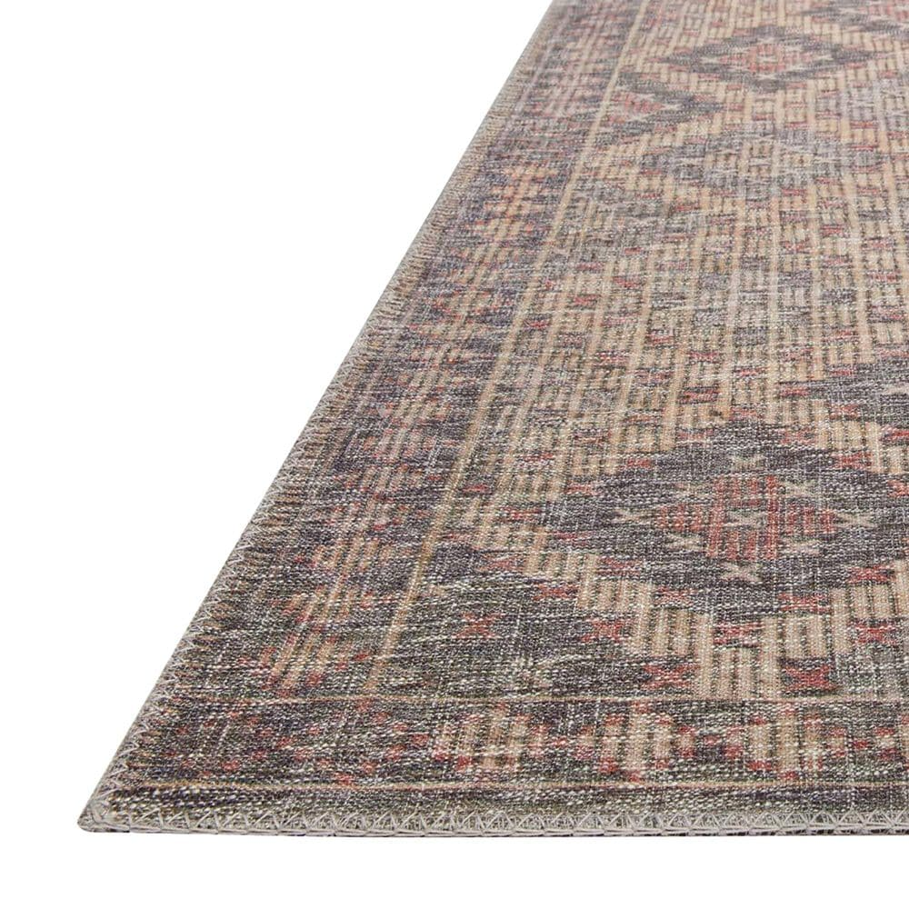 ED Ellen DeGeneres Crafted by Loloi Alameda ALA-08 2' x 5' Beige and Charcoal Area Rug, , large