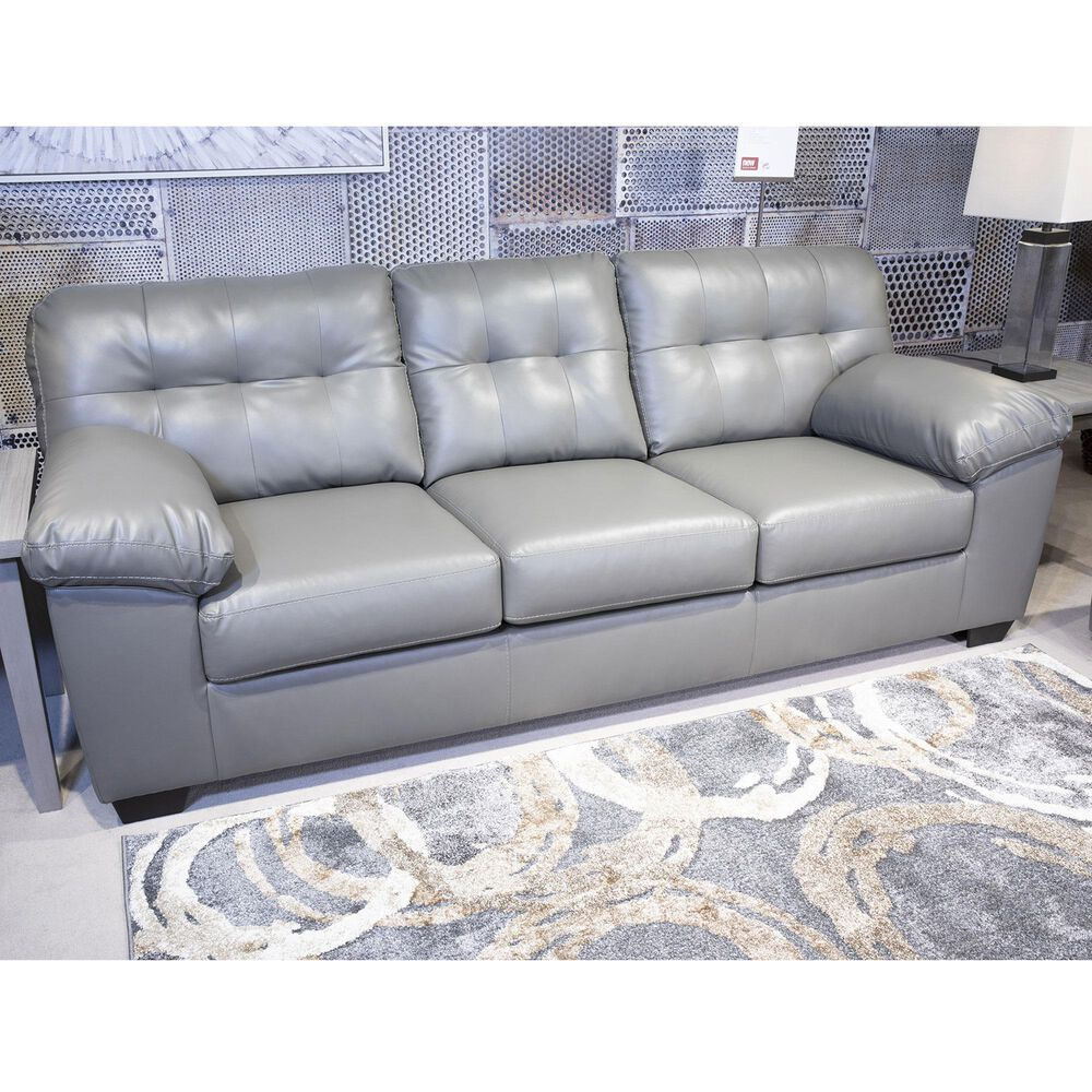 Signature Design by Ashley Donlen Stationary Queen Sofa Sleeper in Gray, , large
