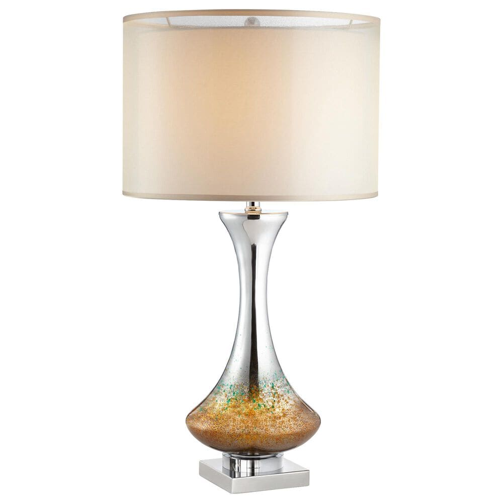 Pacific Coast Lighting Amber Mercuri Table Lamp in Amber, , large