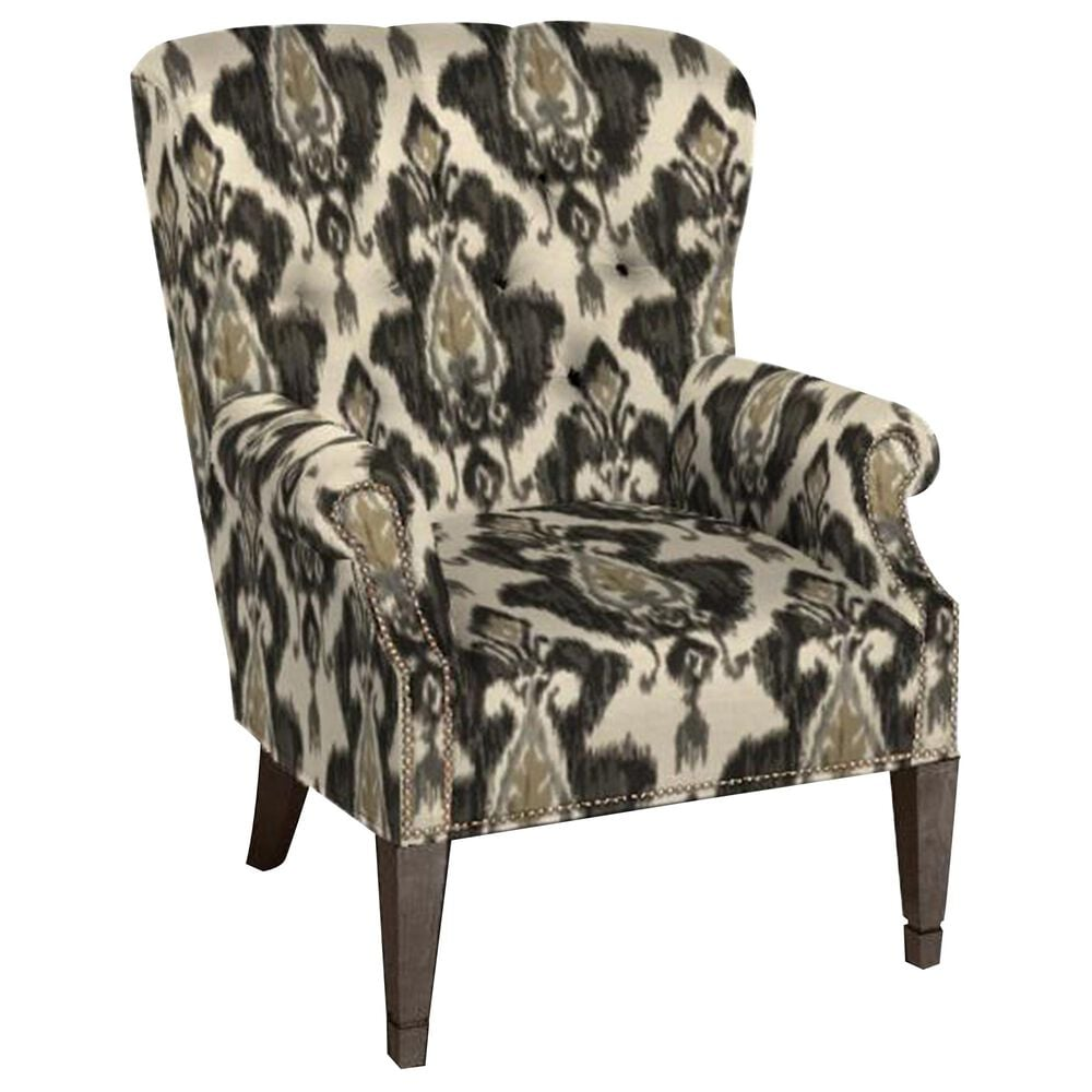 Lexington Furniture Barclay Butera Wilton Wing Back Chair in Brown, , large
