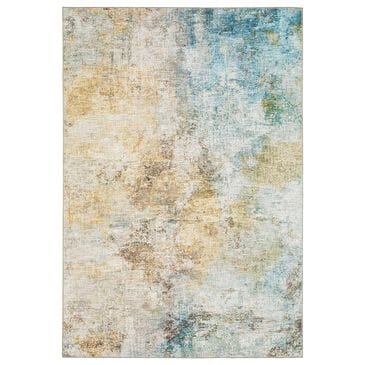 Oriental Weavers Myers Park  5' x 7' Yellow Area Rug, , large