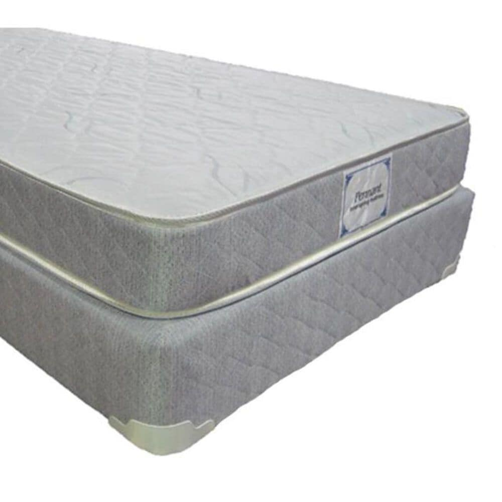 Omaha Bedding Pennant Firm Queen Mattress with High Profile Box Spring, , large
