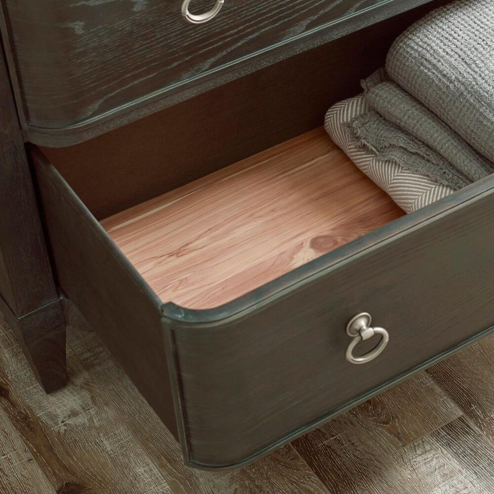 American Drew Ardennes 6 Drawer Chest in Black Forest and Brindle, , large