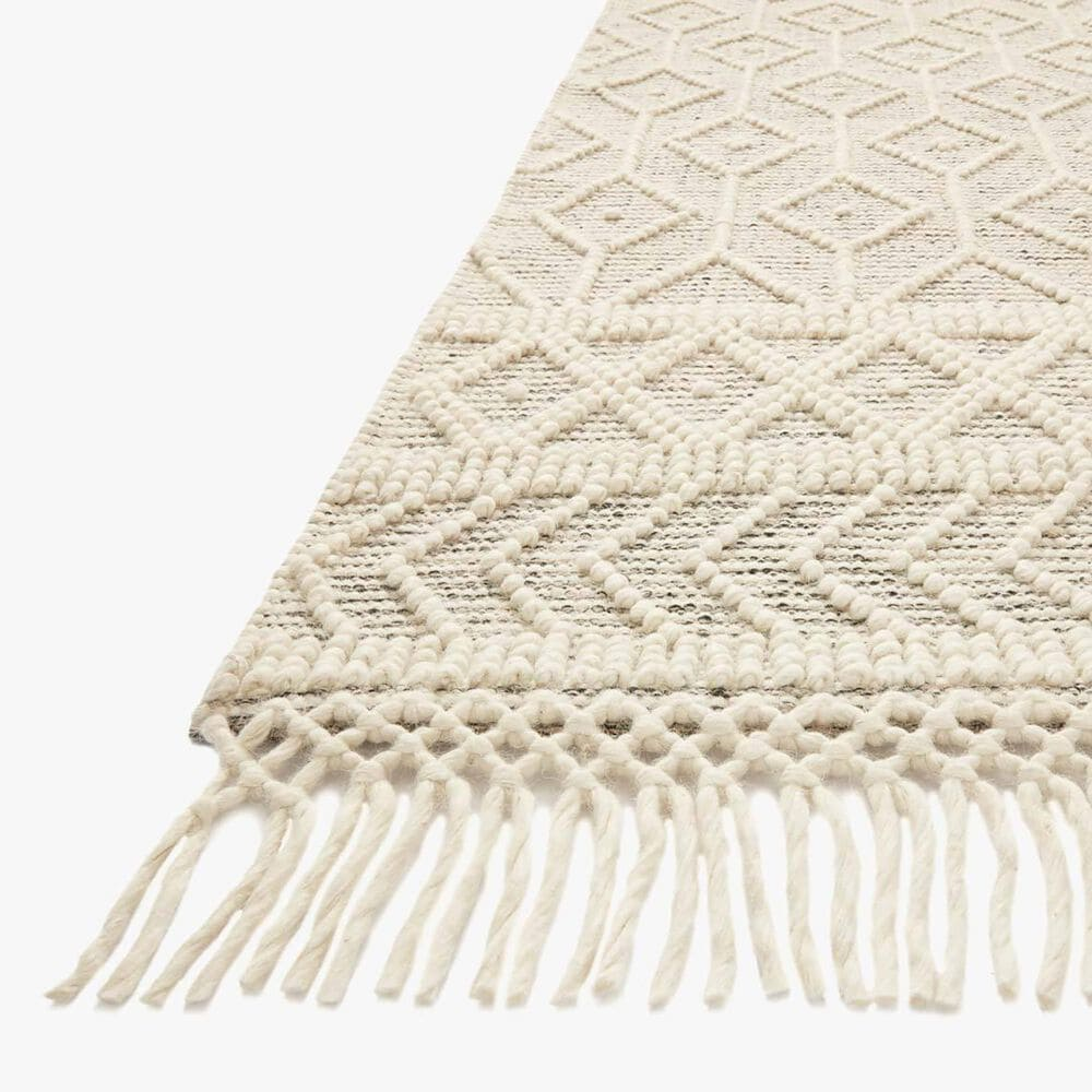 "Loloi II Noelle NOE-02 2'6"" x 7'6"" Ivory and Black Runner, , large"