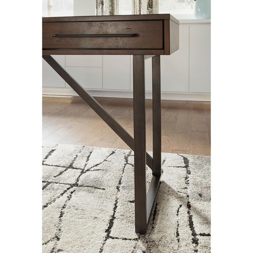 Signature Design by Ashley Starmore Desk and Return in Oiled Walnut, , large