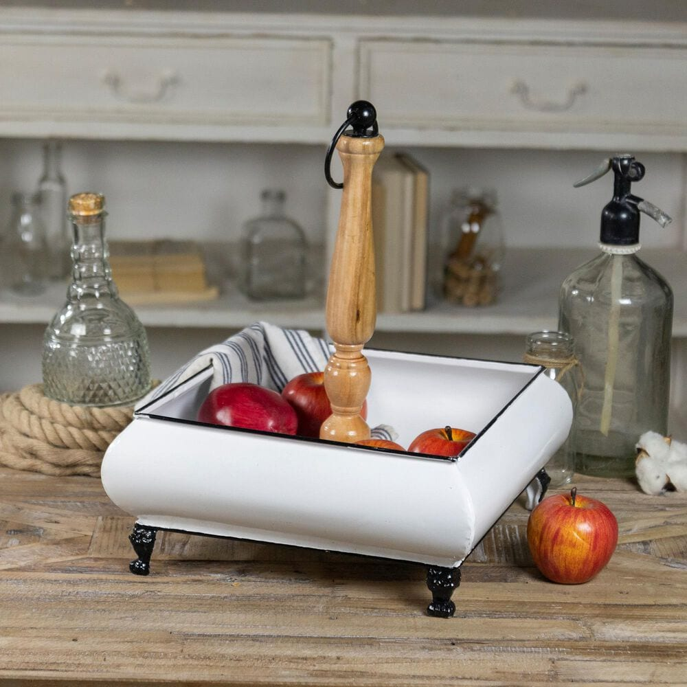 VIP Home and Garden American Mercantile Metal Tray, , large