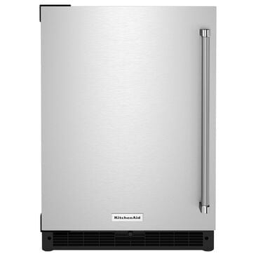 """KitchenAid 24"""" Undercounter Refrigerator in Stainless Steel, , large"""