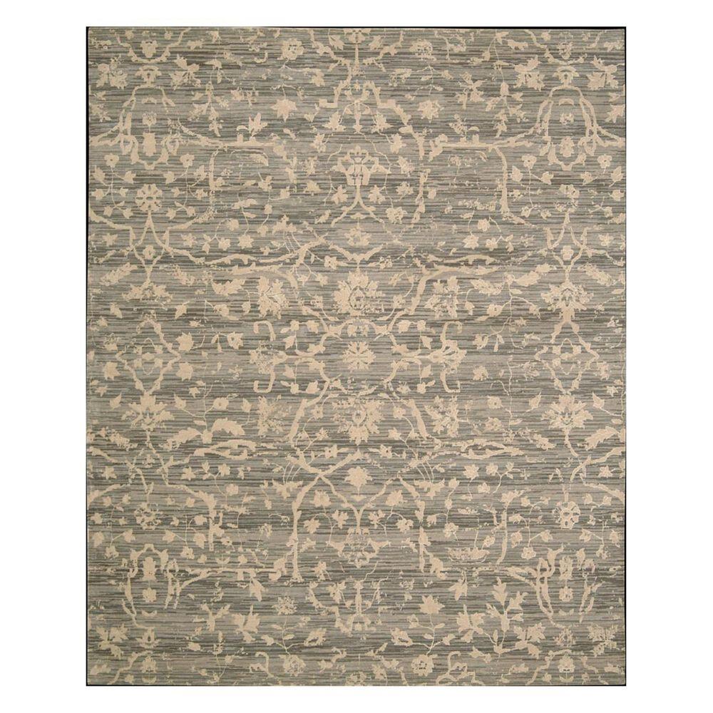 """Nourison Silk Elements SKE22 9'9"""" x 13' Taupe Area Rug, , large"""