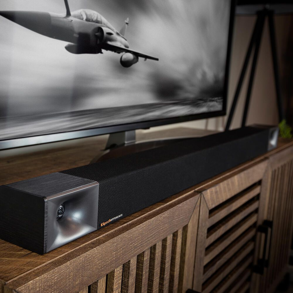 Klipsch 3.1 Channel Soundbar with Wireless Subwoofer in Black, , large
