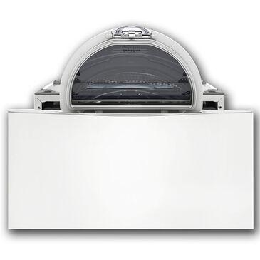 LG 1.0 Cu. Ft. Pedestal Washer in White, , large