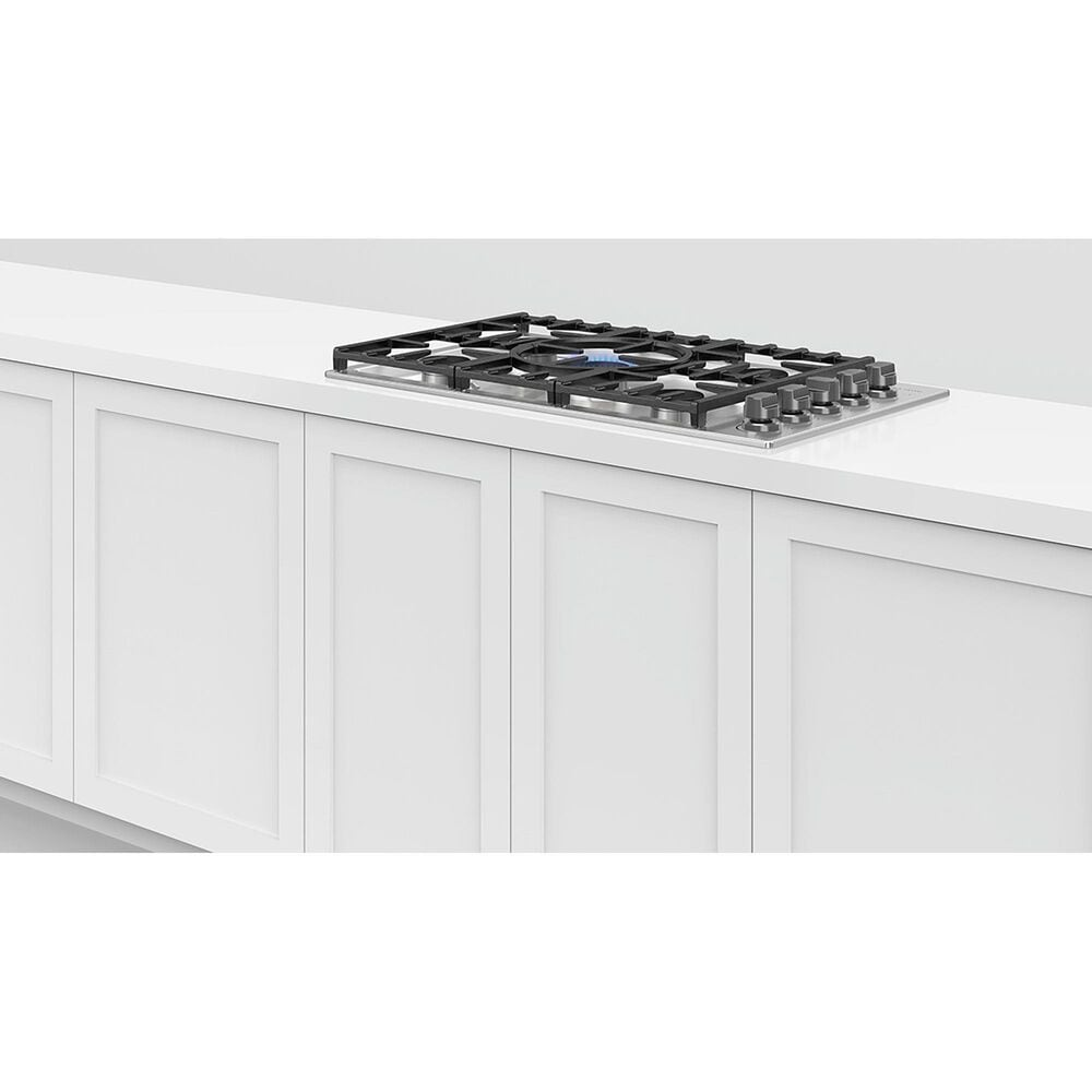 """Fisher and Paykel 36"""" Liquid Propane Cooktop in Stainless Steel, , large"""