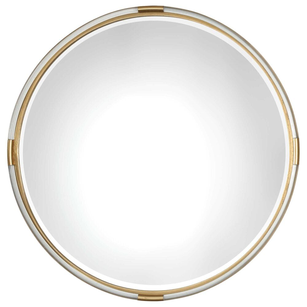 Uttermost Mackai Mirror in Clear and Gold, , large
