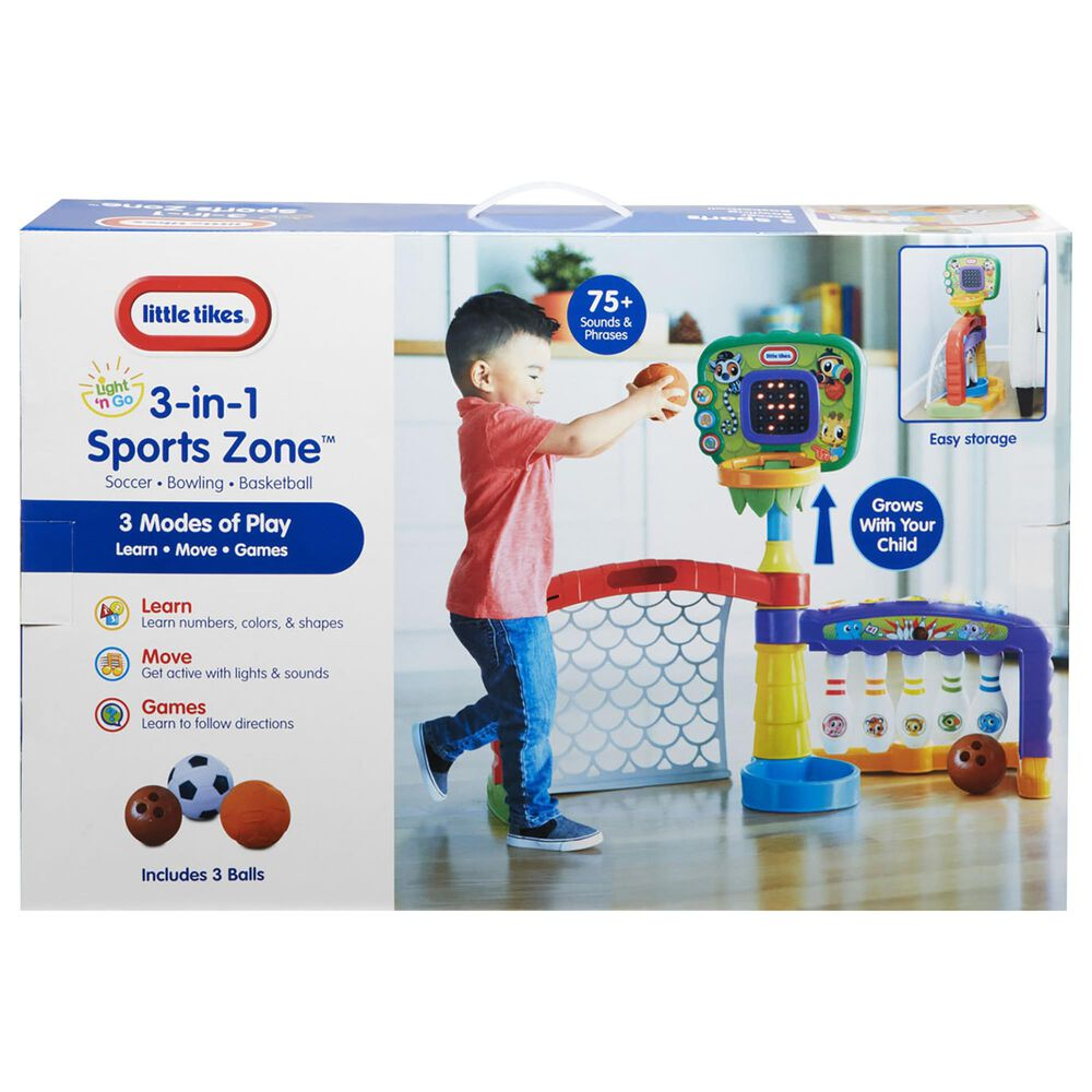 Kidfocus Light 'n Go 3-In-1 Sports Zone, , large