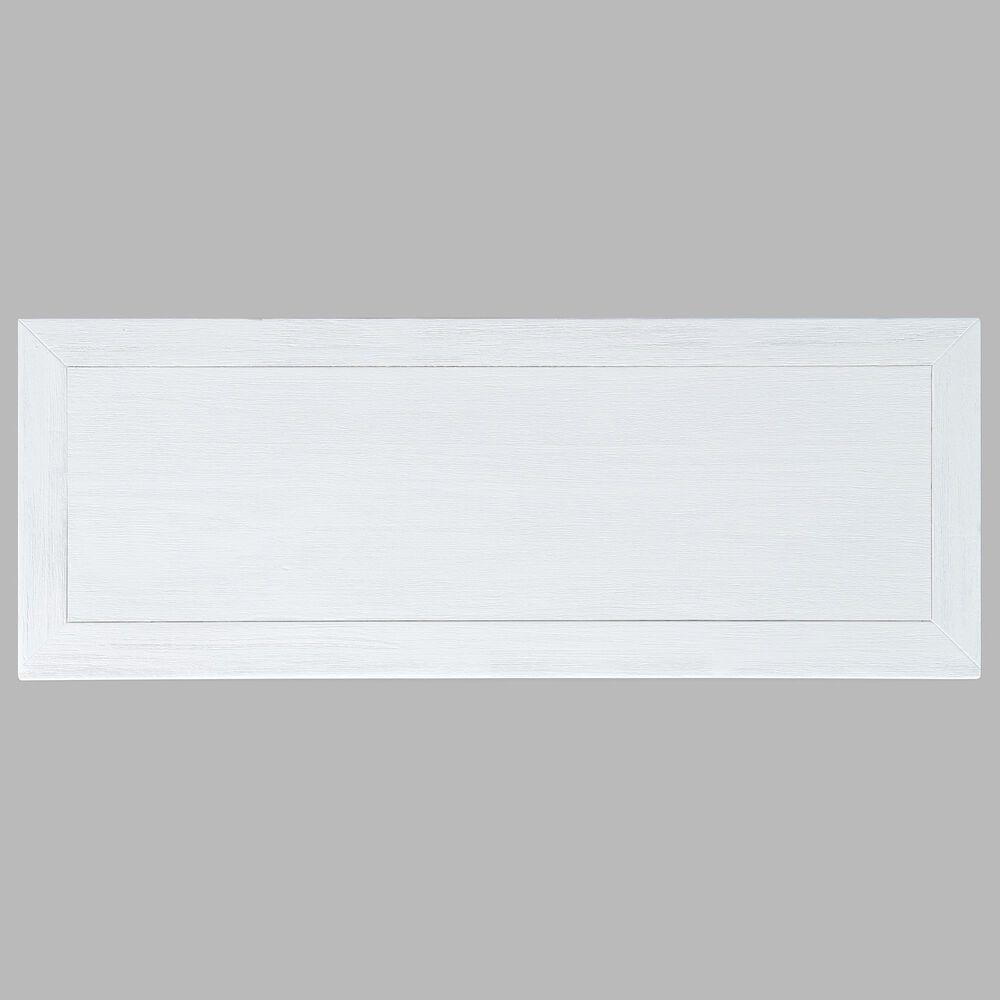 Waltham Gramercy 2-Door Chevron Small Cabinet in Blanc, , large