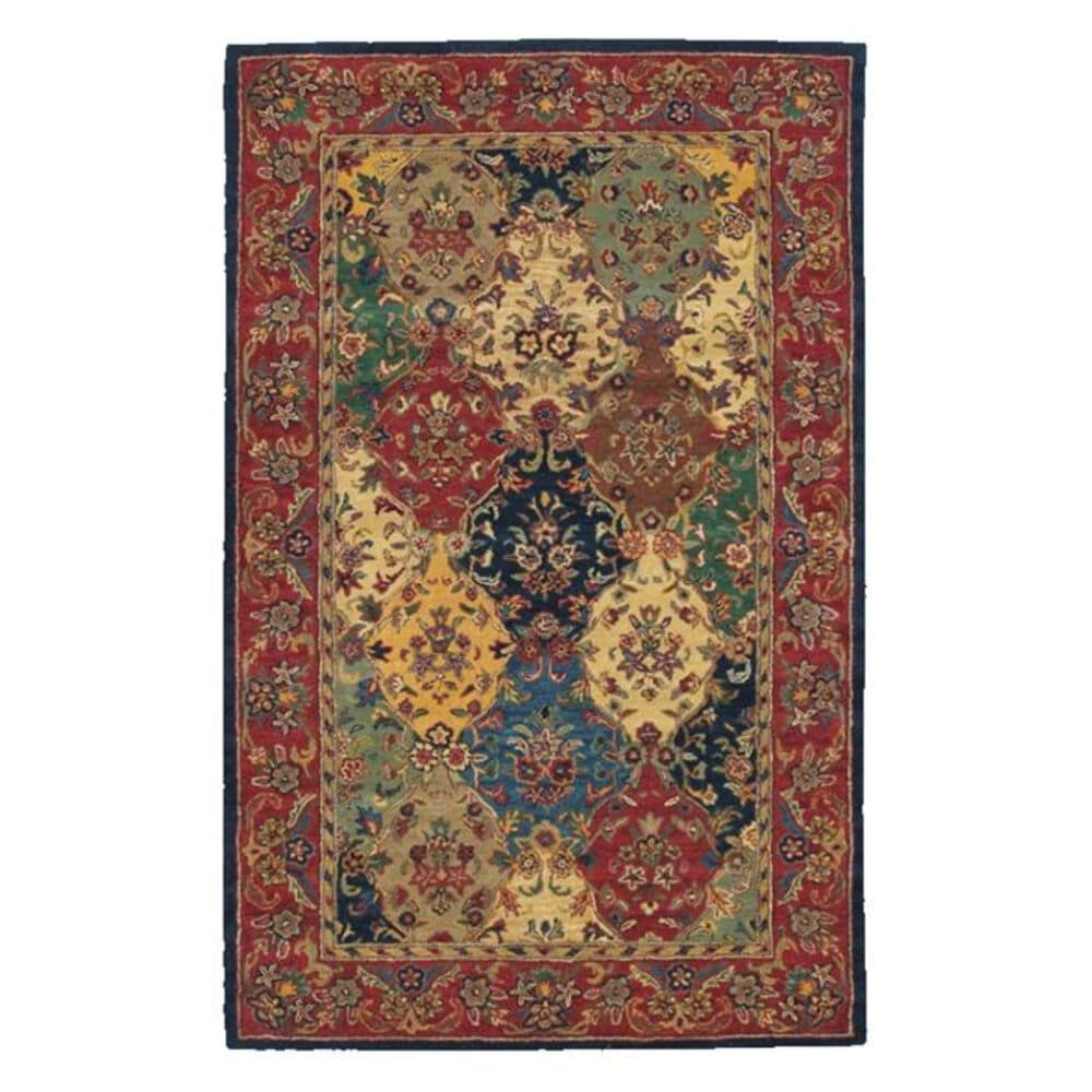 Nourison India House IH23 5' x 8' Multi-Color Area Rug, , large