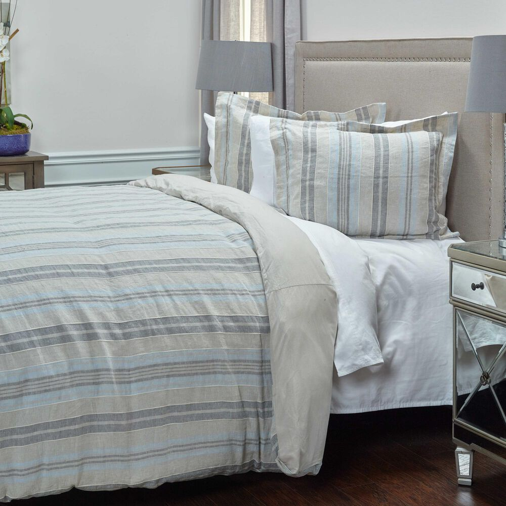 Rizzy Home Terrance 11-Piece Queen Duvet Set in Grey, , large