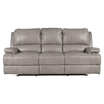 Dawson Lane Parker Leather Power Reclining Sofa with Headrest and Lumbar in Flax, , large