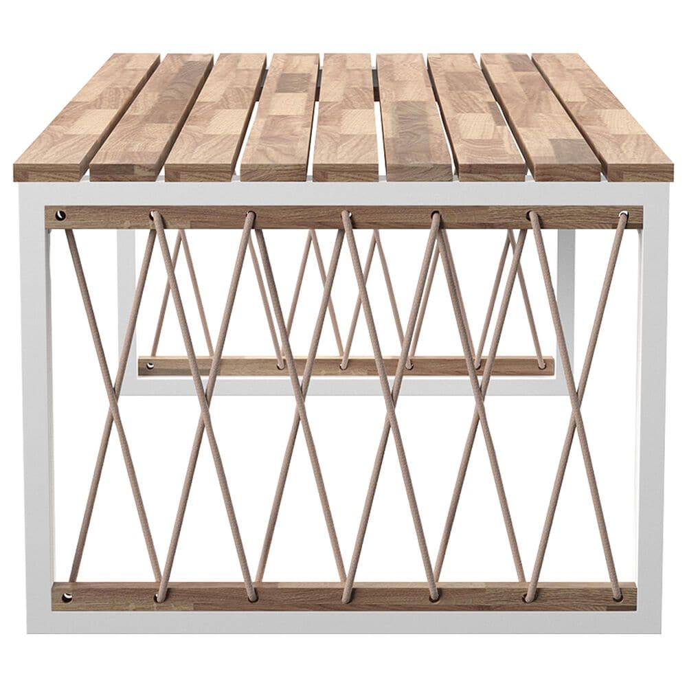 Southern Enterprises Wallmond Coffee Table in Natural/White, , large