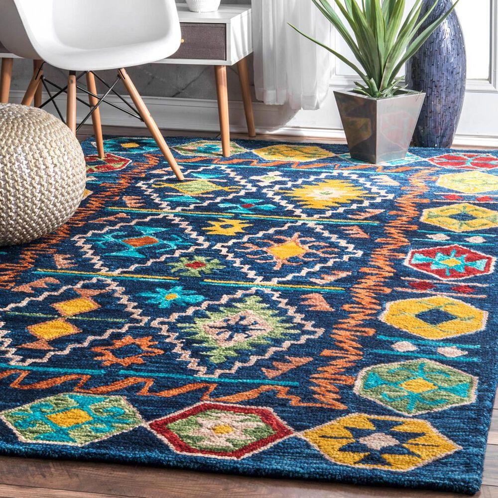 nuLOOM Anaheim MJAH07A 5' x 8' Multicolor Area Rug, , large