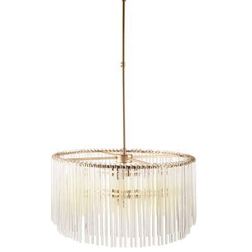 Mercana Elsa Chandelier in Antiqued Gold, , large