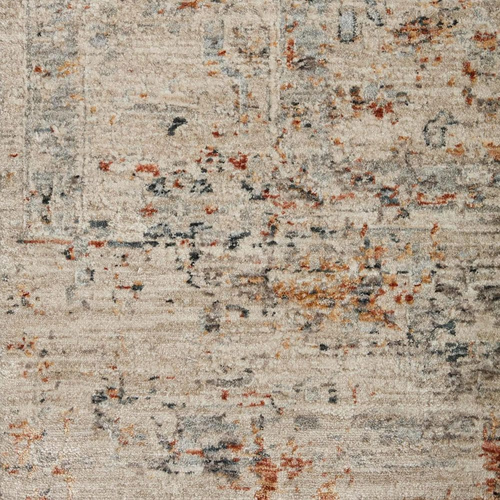 """Loloi Axel 6'7"""" x 9'10"""" Silver and Spice Area Rug, , large"""