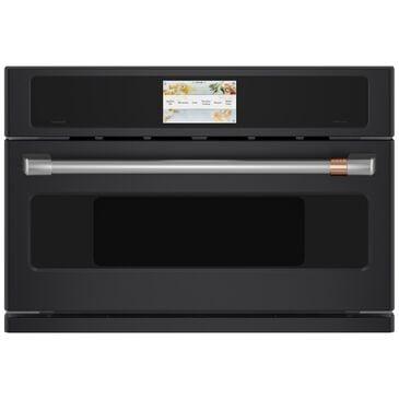 "GE Cafe 30"" Five in One Oven with 120v Advantium Technology in Matte Black , Matte Black, large"