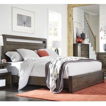Riva Ridge Modern Loft California King Panel Bed in Brownstone, , large
