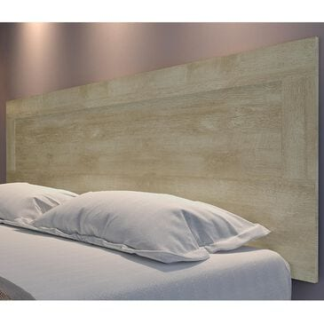 International Home Miami Midtown Concept King Panel Headboard in Distressed Tan, , large
