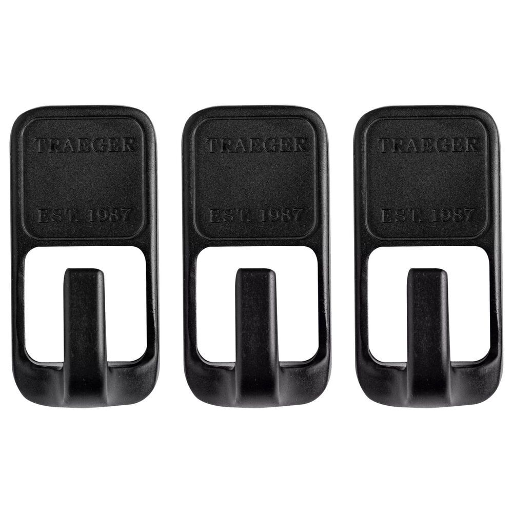 Traeger Grills Magnetic Tool Hooks - Set of 3, , large