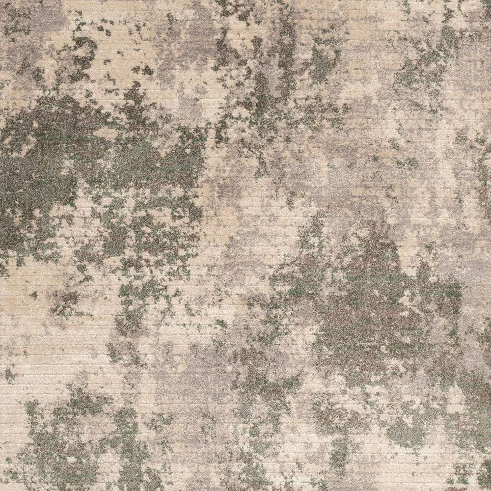 Central Oriental Minerva Fitz 7206SAS 8' x 10' Sand and Spring Area Rug, , large
