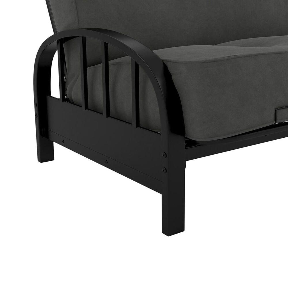DHP Aiden Futon Frame in Black, , large