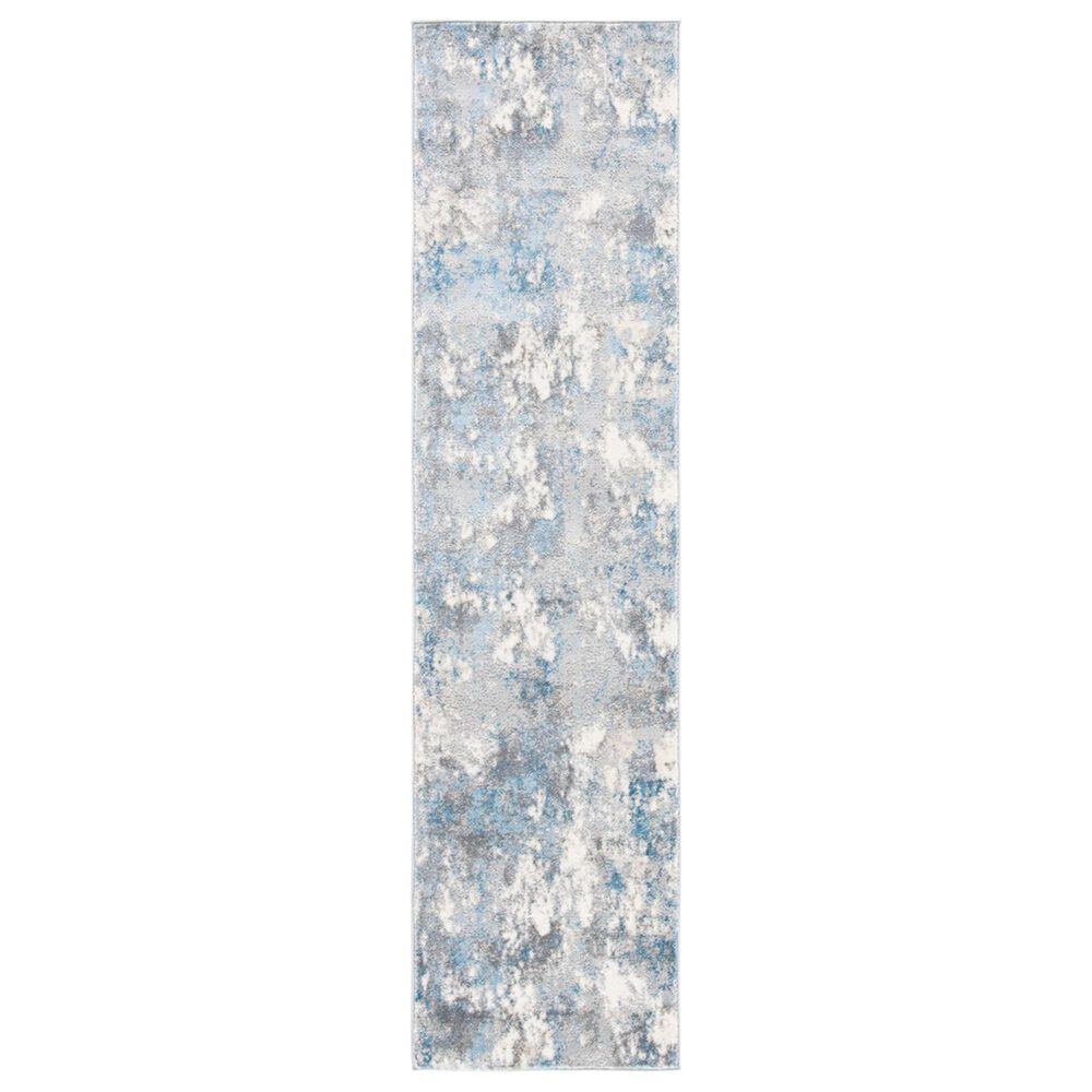 """Safavieh Lagoon LGN521G 2"""" x 8"""" Light Grey and Light Blue Runner, , large"""