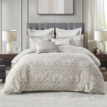 Hampton Park Manor 8-Piece Queen Comforter Set in Grey, , large