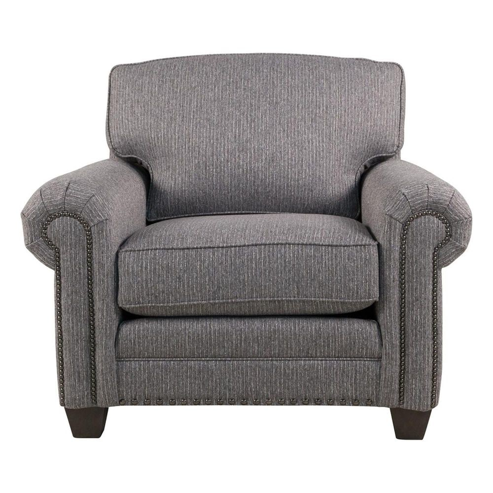 Smith Brothers Suit Chair in Gray, , large
