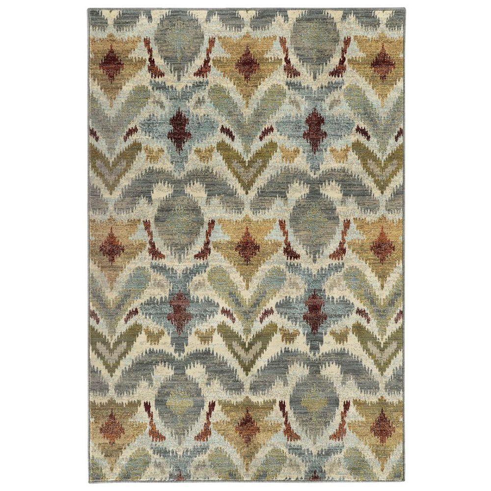 """Oriental Weavers Sedona 6371C 9'10"""" x 12'10"""" Ivory Area Rug, , large"""