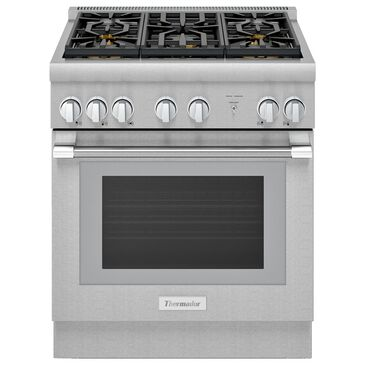 """Thermador 30"""" Professional Harmony Standard Depth Gas Range in Stainless Steel, , large"""