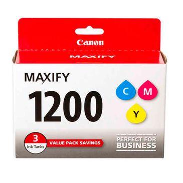 Canon PGI-1200 Cyan, Magenta & Yellow 3 Ink Tank Value Pack, , large