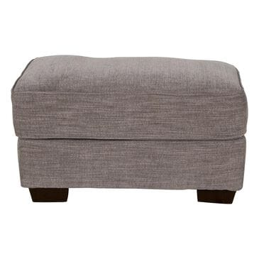 Simmons Upholstery Pompell Ottoman in Silver, , large
