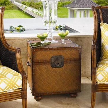 Tommy Bahama Home Island Estate East Cove End Table, , large