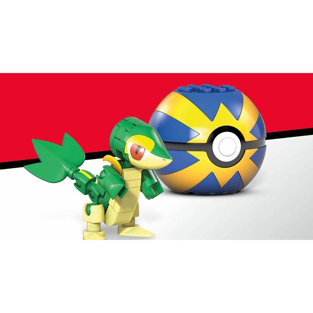 Mega Construx Pokemon Snivy Building Set, , large