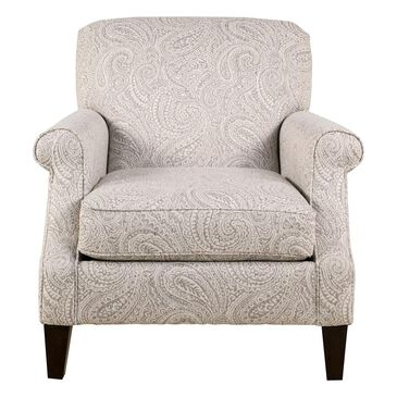 Fulton Home East Hampton Accent Chair in Regalia Cement, , large