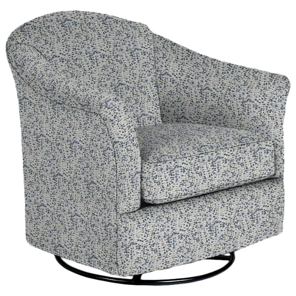 Best Home Furnishings Darby Swivel Glider Chair in Lapis, , large