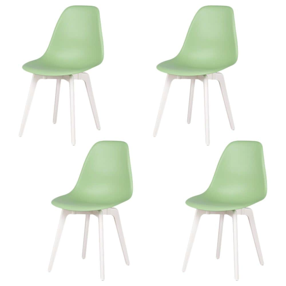 Lagoon Furniture Heron Dining Chairs in Mint (Set of 4), , large